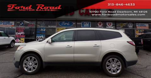 2013 Chevrolet Traverse for sale at Ford Road Motor Sales in Dearborn MI