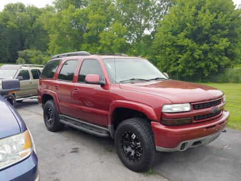 2003 Chevrolet Tahoe for sale at K & P Used Cars, Inc. in Philadelphia TN