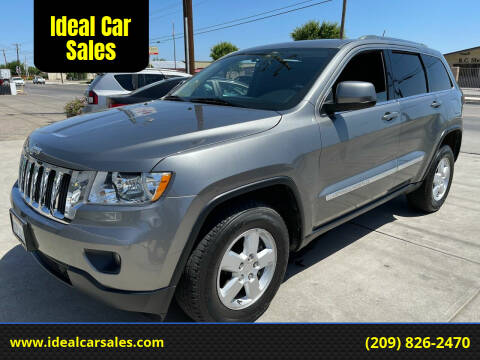 2012 Jeep Grand Cherokee for sale at Ideal Car Sales in Los Banos CA
