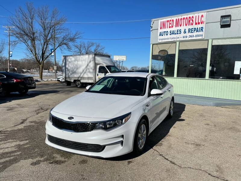 2018 Kia Optima for sale at United Motors LLC in Saint Francis WI