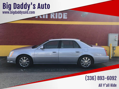 2006 Cadillac DTS for sale at Big Daddy's Auto in Winston-Salem NC