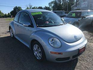 2009 Volkswagen New Beetle for sale at FUSION AUTO SALES in Spencerport NY