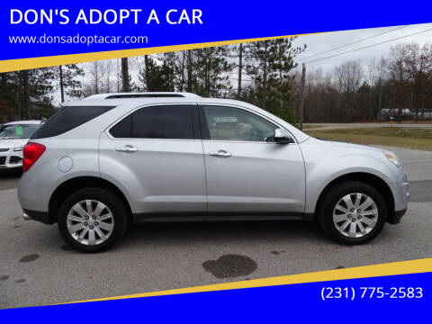 2010 Chevrolet Equinox for sale at DON'S ADOPT A CAR in Cadillac MI
