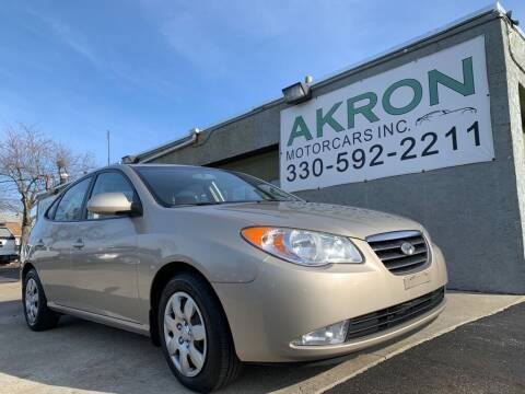 2008 Hyundai Elantra for sale at Akron Motorcars Inc. in Akron OH