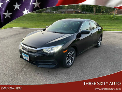 2016 Honda Civic for sale at Three Sixty Auto in Elysian MN