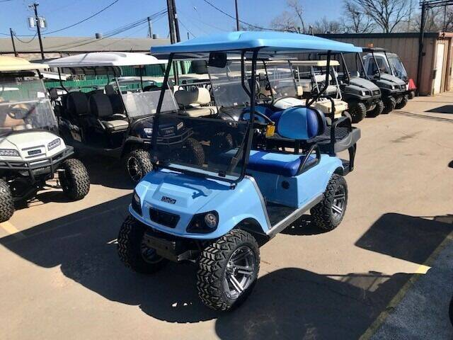 2013 Club Car 4 Passenger Electric Lift for sale at METRO GOLF CARS INC in Fort Worth TX