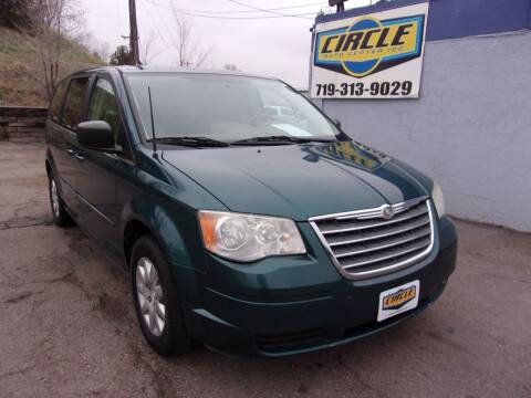 2009 Chrysler Town and Country for sale at Circle Auto Center in Colorado Springs CO