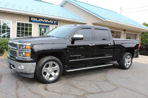 2014 Chevrolet Silverado 1500 for sale at Summit Motorcars in Wooster OH