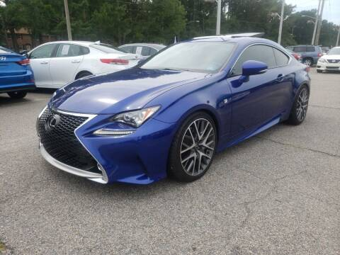 2015 Lexus RC 350 for sale at Auto 757 in Norfolk VA