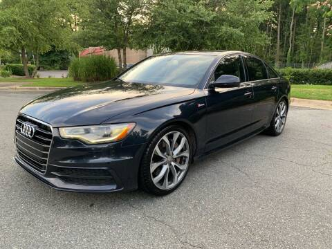 2012 Audi A6 for sale at Triangle Motors Inc in Raleigh NC