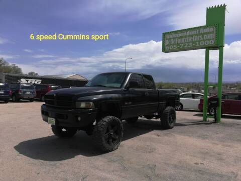 2002 Dodge Ram Pickup 2500 for sale at Independent Auto in Belle Fourche SD