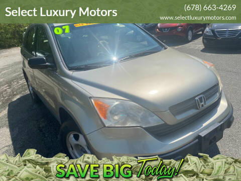 2007 Honda CR-V for sale at Select Luxury Motors in Cumming GA