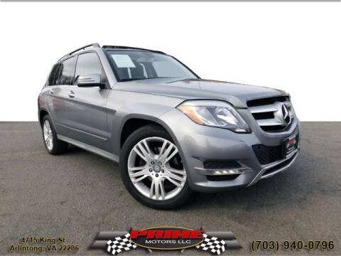 2014 Mercedes-Benz GLK for sale at PRIME MOTORS LLC in Arlington VA