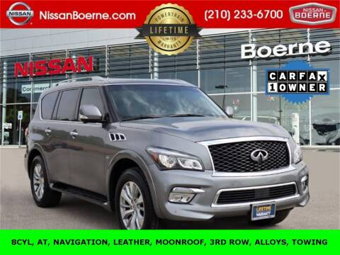 2017 Infiniti QX80 for sale at Nissan of Boerne in Boerne TX
