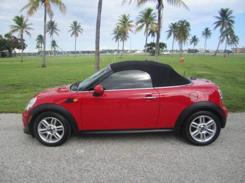 2012 MINI Cooper Roadster for sale at FLORIDACARSTOGO in West Palm Beach FL