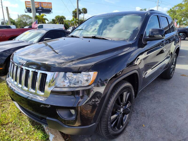 2013 Jeep Grand Cherokee for sale at Celebrity Auto Sales in Port Saint Lucie FL
