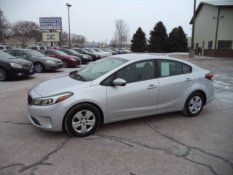 2017 Kia Forte for sale at Budget Motors - Budget Acceptance in Sioux City IA