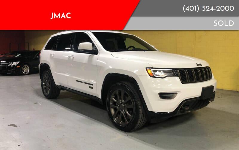 2016 Jeep Grand Cherokee for sale at JMAC in Attleboro MA
