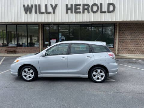 2008 Toyota Matrix for sale at Willy Herold Automotive in Columbus GA