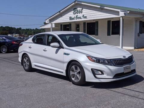 2014 Kia Optima Hybrid for sale at Best Used Cars Inc in Mount Olive NC