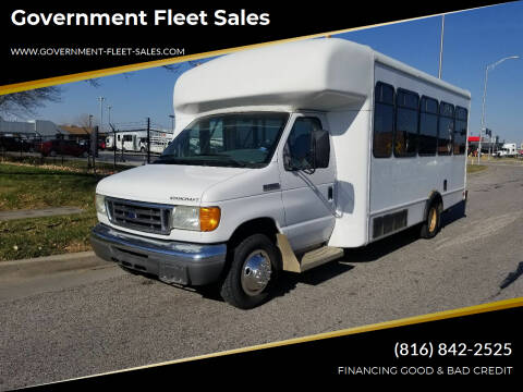 2006 Ford E-Series Chassis for sale at Government Fleet Sales in Kansas City MO