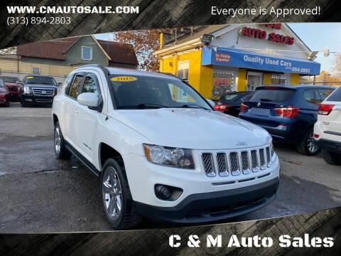 2015 Jeep Compass for sale at C & M Auto Sales in Detroit MI