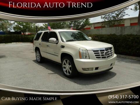 2009 Cadillac Escalade for sale at Florida Auto Trend in Plantation FL
