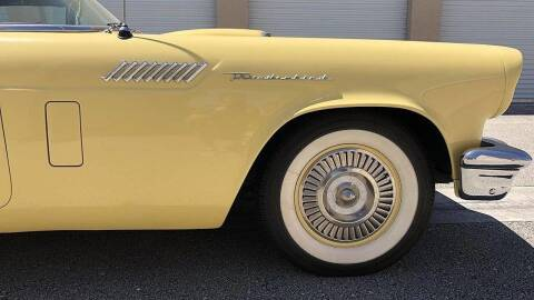 1957 Ford Thunderbird for sale at Berliner Classic Motorcars Inc in Dania Beach FL