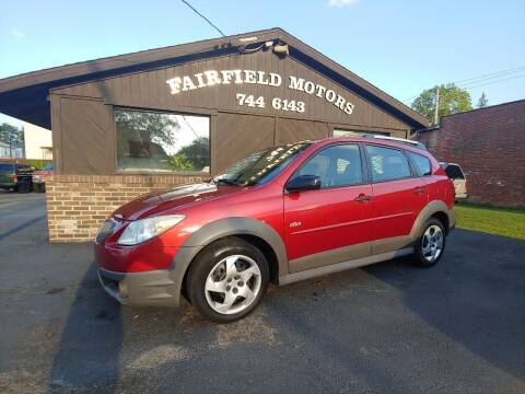 2007 Pontiac Vibe for sale at Fairfield Motors in Fort Wayne IN