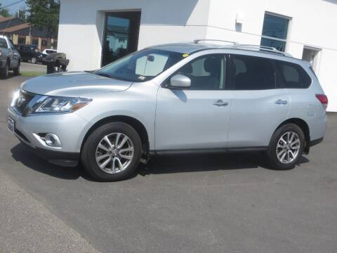 2015 Nissan Pathfinder for sale at Price Auto Sales 2 in Concord NH