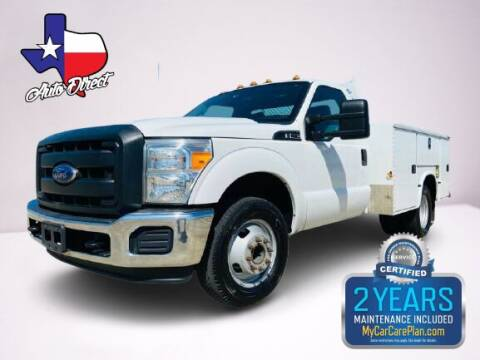 2016 Ford F-350 Super Duty for sale at AUTO DIRECT Bellaire in Houston TX