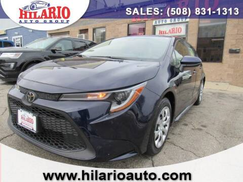 2020 Toyota Corolla for sale at Hilario's Auto Sales in Worcester MA