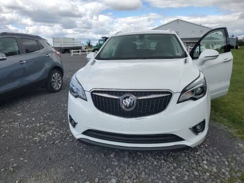 2019 Buick Envision for sale at K & G Auto Sales Inc in Delta OH