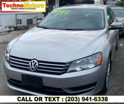 2014 Volkswagen Passat for sale at Techno Motors in Danbury CT