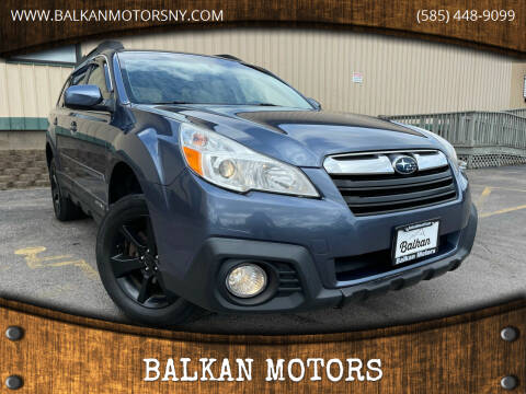 2013 Subaru Outback for sale at BALKAN MOTORS in East Rochester NY