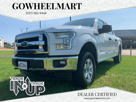 2017 Ford F-150 for sale at GOWHEELMART in Leesville LA