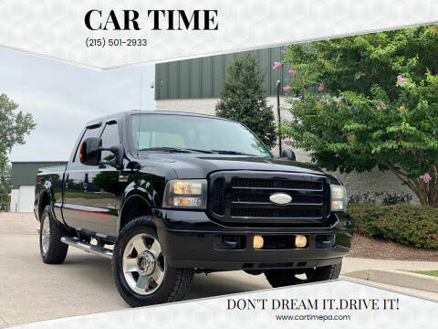 2007 Ford F-250 Super Duty for sale at Car Time in Philadelphia PA
