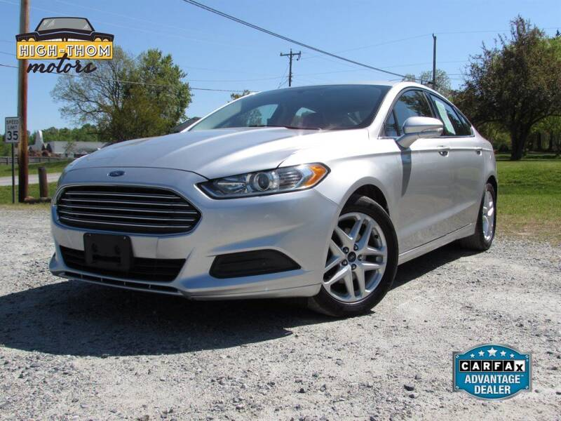 2015 Ford Fusion for sale at High-Thom Motors in Thomasville NC