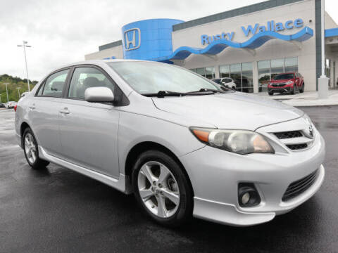 2012 Toyota Corolla for sale at RUSTY WALLACE HONDA in Knoxville TN
