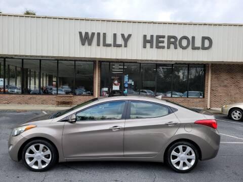 2011 Hyundai Elantra for sale at Willy Herold Automotive in Columbus GA