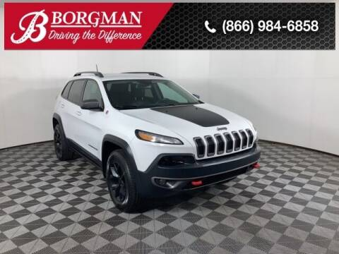 2016 Jeep Cherokee for sale at BORGMAN OF HOLLAND LLC in Holland MI
