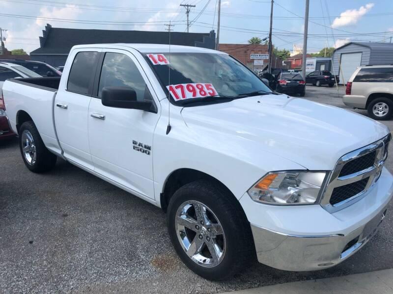 2014 RAM Ram Pickup 1500 for sale at Kramer Motor Co INC in Shelbyville IN