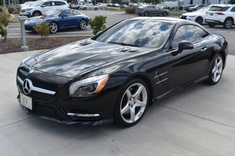 2014 Mercedes-Benz SL-Class for sale at PHIL SMITH AUTOMOTIVE GROUP - MERCEDES BENZ OF FAYETTEVILLE in Fayetteville NC