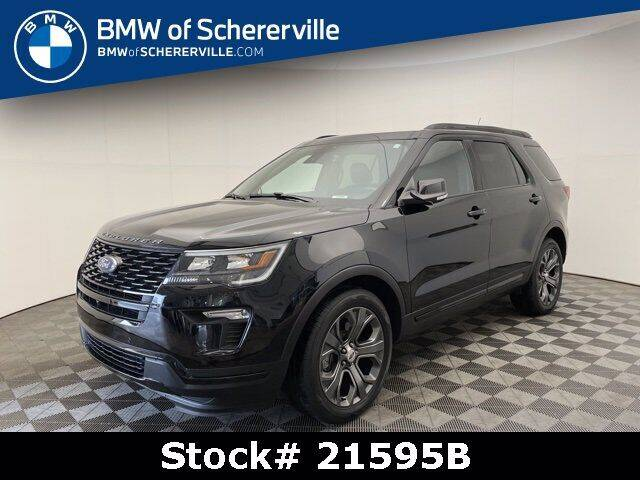 2018 Ford Explorer for sale at BMW of Schererville in Shererville IN