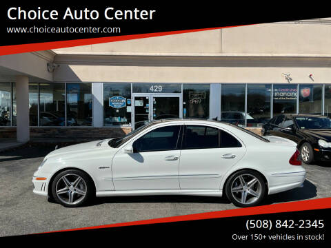 2009 Mercedes-Benz E-Class for sale at Choice Auto Center in Shrewsbury MA