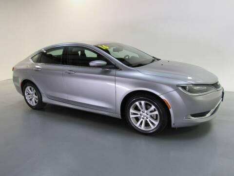 2016 Chrysler 200 for sale at Salinausedcars.com in Salina KS
