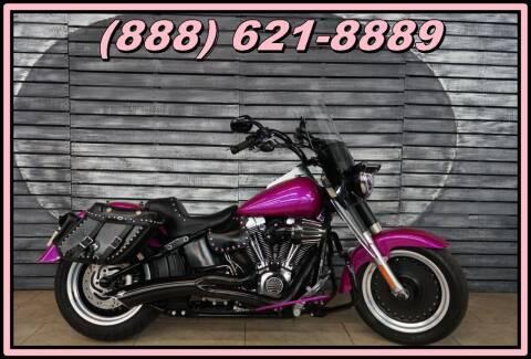 2012 Harley-Davidson FLSTFB Fat Boy Lo for sale at AZMotomania.com in Mesa AZ
