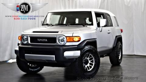 2008 Toyota FJ Cruiser for sale at ZONE MOTORS in Addison IL