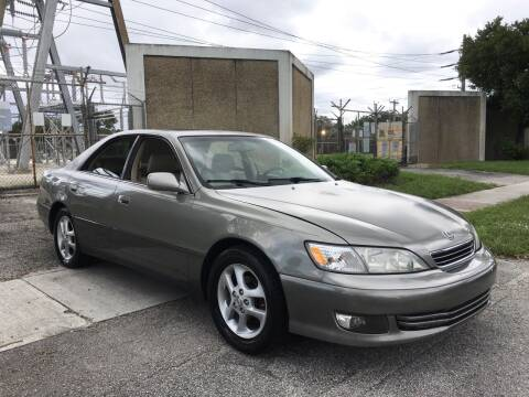 2001 Lexus ES 300 for sale at FIRST FLORIDA MOTOR SPORTS in Pompano Beach FL