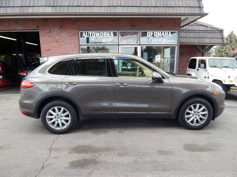 2013 Porsche Cayenne for sale at AUTOWORKS OF OMAHA INC in Omaha NE